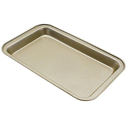 Yiwa Non-stick Baking Tray Cake Mold for Nougat Pizza Bread Cakes Kitchen Supplies Baking Tool Large gold