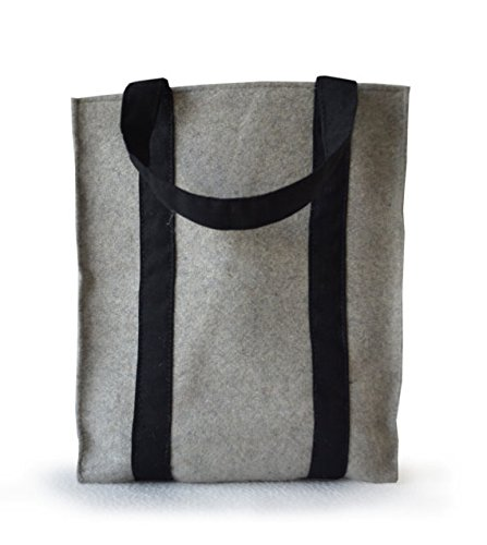Housewarming Bag Handmade Tote Gifts Felt Everyday Grey Gifts Beaute Amore Bags Tote Tote Bag Tote Her for Market Felt q6I5pnw