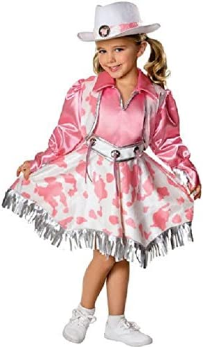 Rubies Let's Pretend Collection Western Diva Costume, Medium (Ages 5 to 7) 41uFCd8IX3L