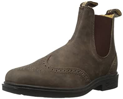 Amazon.com | Blundstone Men's BL1301 Brogue Boot, Rustic