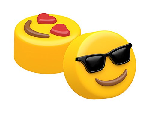 SpinningLeaf Sunglasses & Heart Eyes Emoji Mini Sandwich Cookie Mold (Mini Oreo Cookie Molds)