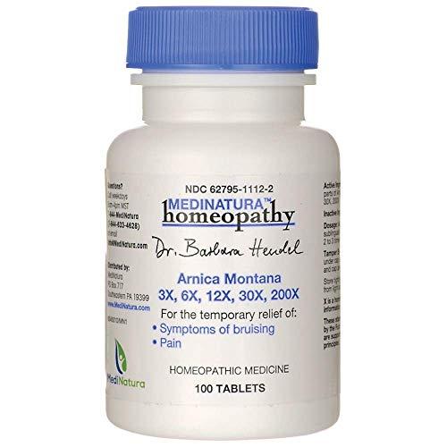 Arnica Montana Homeopathy - Dr. Barbara Hendel Arnica Montana Tablets, 100 Count