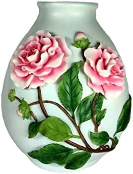 Camellia Table Vase Ibis and Orchid Design