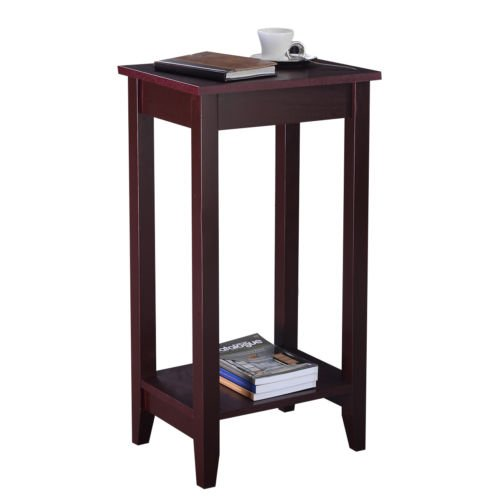 Brown Tall End Table Coffee Stand Side Desk by Nikkycozie (Image #1)