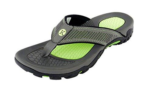 0462b1552fe Kaiback Men s Drifter Sport Flip Flop Sandal (11