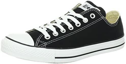 Converse Unisex Chuck Taylor All Star Ox Low Top Black/White Sneakers - US MEN 8/US WOMEN 10/UK 8/EU 41.5/27 CM