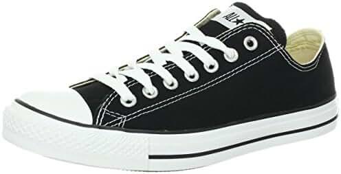 Converse Unisex Chuck Taylor All Star Ox Low Top Black/White Sneakers - US MEN 8/US WOMEN 10/UK 8/EU 41.5/27 CM