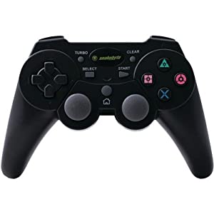Snakebyte SB00566 Basic USB Wired Game Controller for PlayStation 3 & PC (Black)