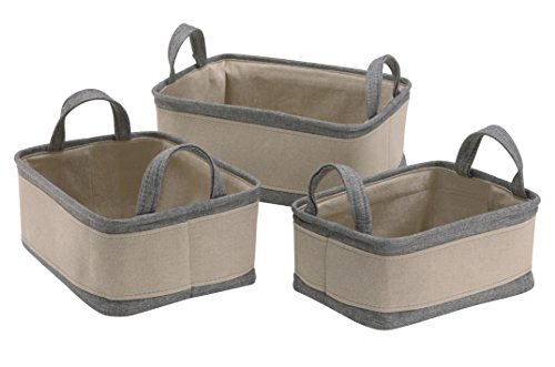 Organize It All 53185W Storage Basket, Set of 3