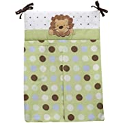 NoJo Little Bedding Jungle Pals Diaper Stacker