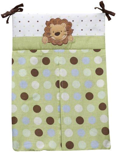 NoJo Little Bedding Jungle Pals Diaper Stacker