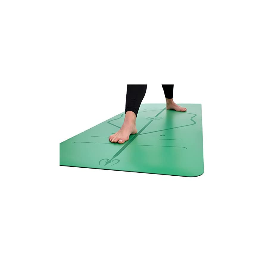 Liforme Yoga Mat The World's Best Eco Friendly, Non Slip Yoga Mat with The Original Unique Alignment Marker System. Biodegradable Mat Made with Natural Rubber & A Warrior Like Grip