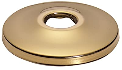 "Keeney K90PB Shallow Flange for 3/8"" IPS, Polished Brass"
