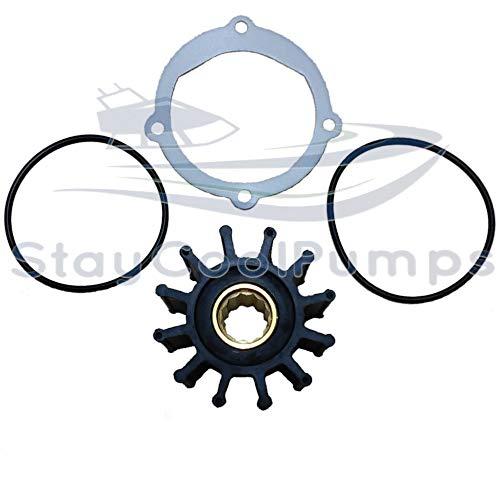 StayCoolPumps Impeller Kit Replaces Johnson 09-812B-1 Jabsco 13554-0001-P Sierra 18-3306 ()