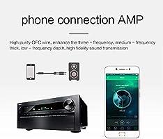 LinkinPerk 2m Cable audio 3.5mm a doble 6.35 mm Mono Audio Jack ...