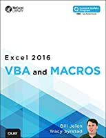 Excel 2016 VBA and Macros Front Cover