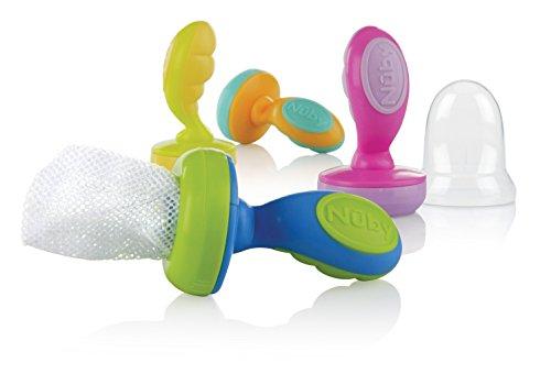Nuby 2 Pack Nibbler Colors Vary