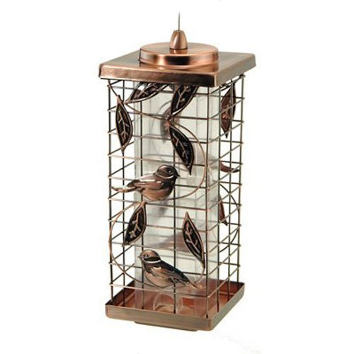 Audubon Kay Home Product's Squirrel-Resistant Caged Tube Feeder
