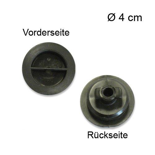 Messerverschluss für Ritter Allesschneider Contura3 / Linea 3 / Scalea 5 / Solida 3/4/5 / Markant 01/05 / E 20 aus Kunststoff Ø 4 cm/Multischneider / Ersatzteil