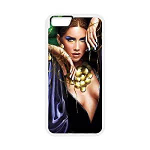 fantasy woman iPhone 6 Plus 5.5 Inch Cell Phone Case White Customize Toy zhm004-7416128