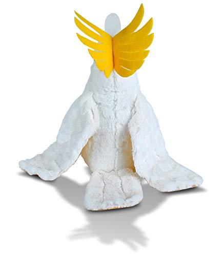 Wild Republic Cockatoo Plush, Stuffed Animal, Plush Toy, Gifts for Kids, Cuddlekins 12 Inches (10925)