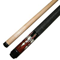 "Short 48"" 2 Piece Hardwood Maple Pool Cue Billiard Stick 18 or 19 Ounce"