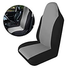 XCSOURCE Universal Removable Nylon Car Auto Seat Cover Easy Fit Vehicle Seat Protector Mat Black + Grey MA547
