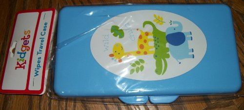 Blue Baby Wipe Holder