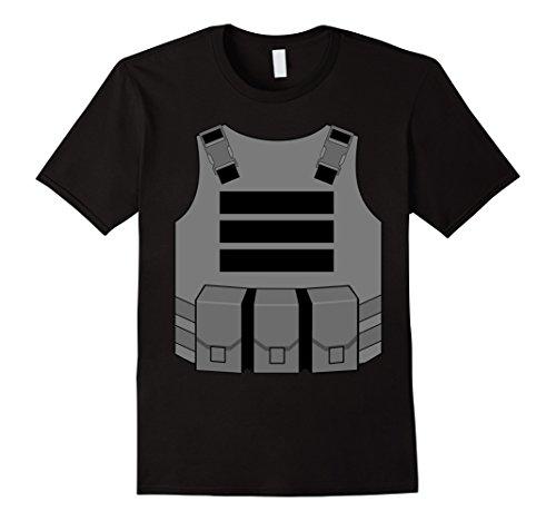 gaming bulletproof vest costume t-shirt
