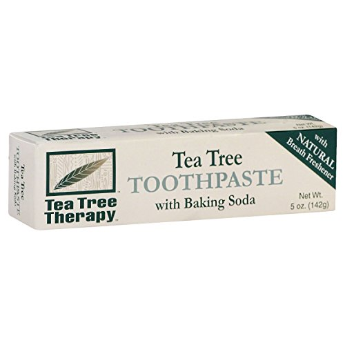 Tea Tree Therapy Toothpaste with Baking Soda 5 Oz ( 2 Pack) (Toothpaste Soda)