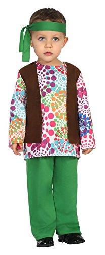 Atosa-24431 Disfraz Hippie, Color Verde, 0 a 6 Meses (24431 ...