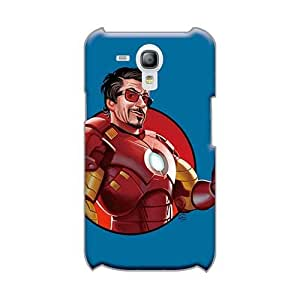 Anti-Scratch Hard Cell-phone Case For Samsung Galaxy S3 Mini (oUM9554RTce) Support Personal Customs HD Iron Man 3 Robert Downey Jr. Series