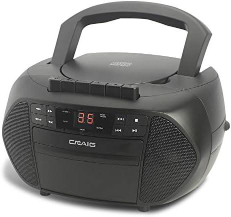 Craig Electronics Boombox Cassette Recorder product image