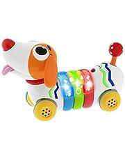 Chicco - DogReMi Speelgoedhond - Interactief Speelgoed - Bestuurbare Blaffende Hond - Activiteitencentrum - 18 Maanden tot 4 Jaar