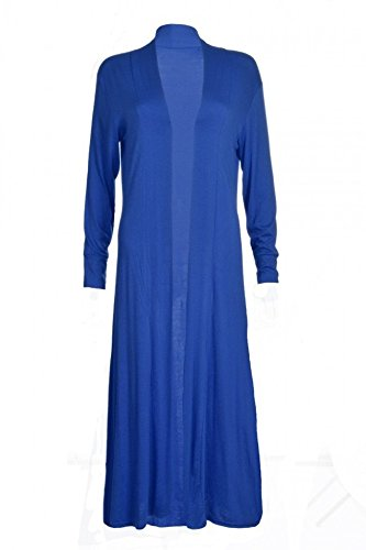 FZK FASHION - Cárdigan - para mujer azul real
