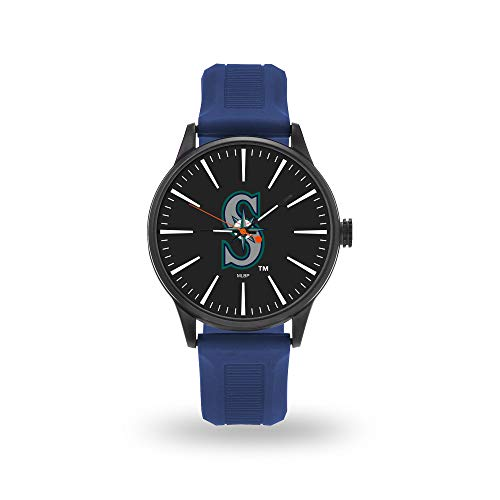 (Rico Industries, Inc. Seattle Mariners Cheer Design Watch Team Color Logo Baseball)