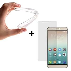 BeCool® - Funda Gel Flexible Huawei Honor 7i Carcasa Case Silicona TPU Suave [+1 Protector Cristal Vidrio Templado]