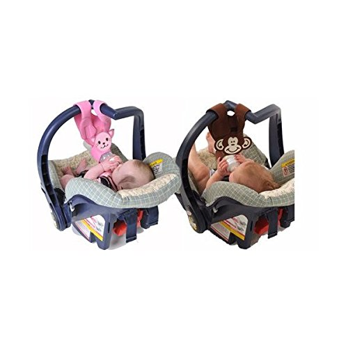 Hands Free Baby Bottle Holders For Twins Monkey And Kitten Amazoncouk