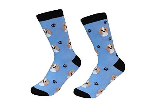 (Cavalier King Charles Spaniel Dog Breed Socks Unisex Sock Daddy by E&S)