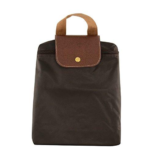 RAINBOW - Bolso mochila  para mujer marrón granate marrón