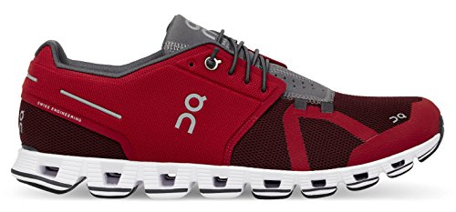 (On Inc Mens Cloud, Red/Ox, 7 D(M) US)