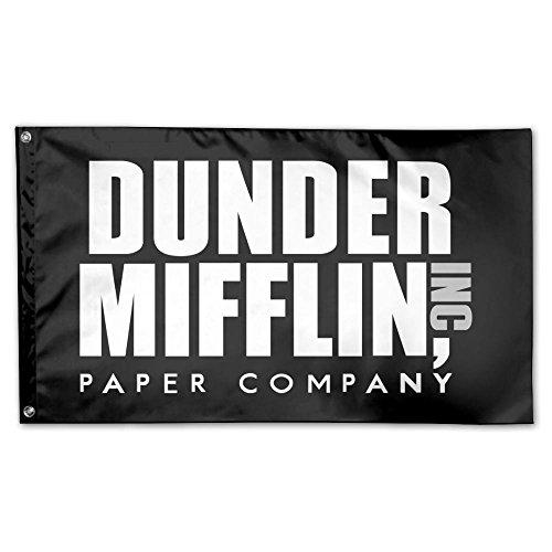 UDSNIS Dunder Mifflin Garden Flag 3 X 5 Flag For House Decor