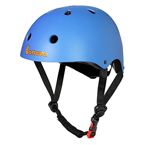 Lanova Toddler Helmet CPSC Certified Kids Bike Helmet Adjustable from Toddler to Youth(Age 3-8) 11 Vents Safety & Ventilation Design for Kids Cycling Skating Scooter