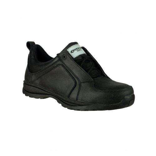 Noir De Amblers Chaussures Femme Tan A10fq7xwn Sécurité Pour 8zZRq1