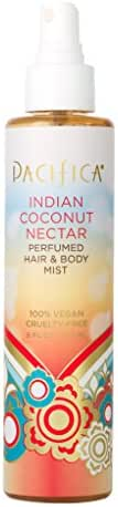 Pacifica Beauty Indian Coconut Nectar Perfumed Hair & Body Mist, Indian Coconut Nectar, 6 Fl Oz (1 Count)