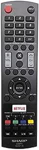 *New* Genuine Sharp LC-43CFF6001K TV Remote Control