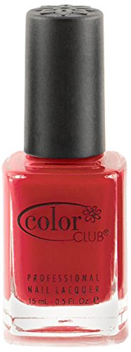 Color Club Fiesta Nail Polish, Engine Red, Mamba.05 Ounce ()