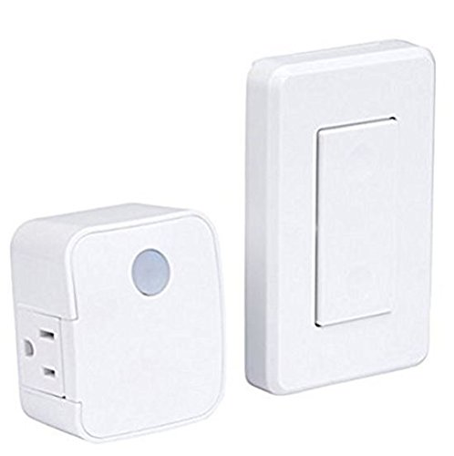 Westek New Model RFK1600LC replaces RFK100LC/RFK101LC Wall Mounted Switch and Plug-in Receiver (Pack of 2) (Handy Switch)