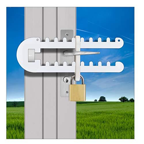 Patio French Door Lock Single Door Handle Either 'P', D' or Standard Handle High Security Deadlock Also Fits Sliding…