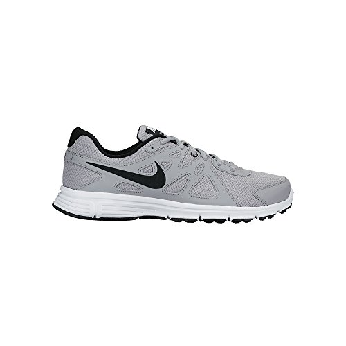 Nike Men's Revolution 2 Running Shoe Wolf Grey/Black/White Size 10 M US by NIKE